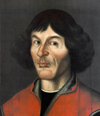 Painting of Nicolaus Copernicus.