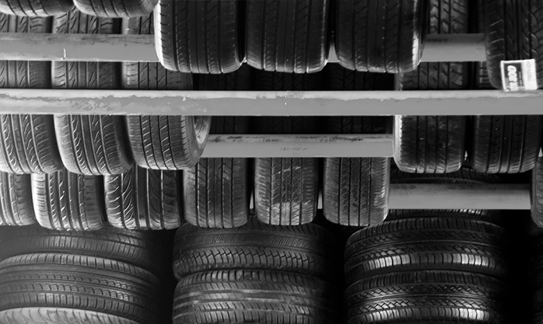 This is a picture of car tires.