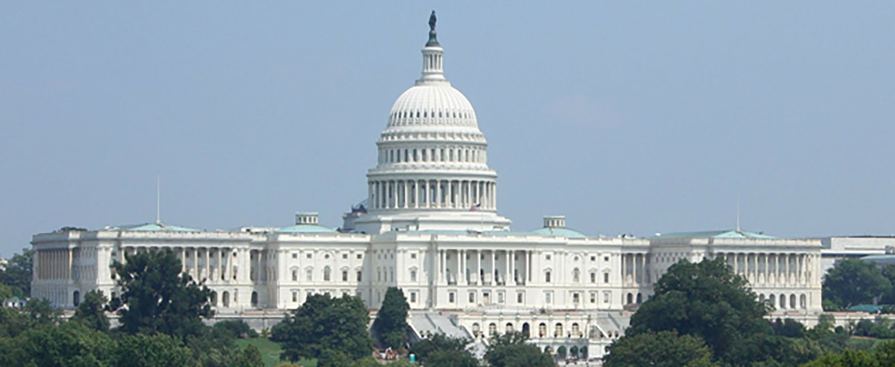 A picture of the United States Capitol Building.