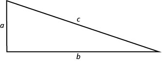 This figure is a right triangle.