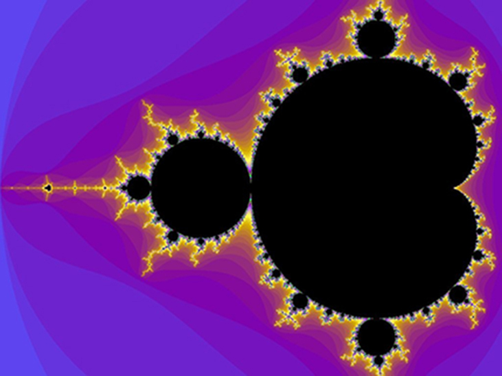 A very complicated and organic looking fractal.