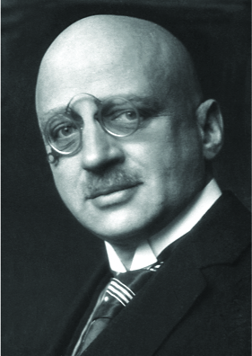 A photo a Fritz Haber is shown.