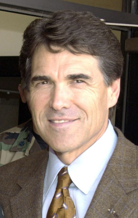 A photo of Texas Governor Rick Perry.
