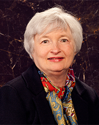 This image is a photograph of Janet Yellen.