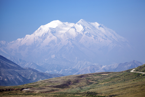 Photo of Mt. McKinley.