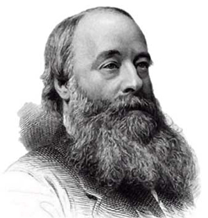A black and white photograph of James Joule is shown.