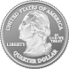A picture of a United States quarter is shown.