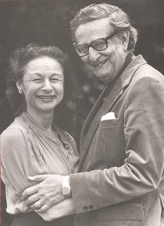 A photograph shows Hans and Sybil Eysenck together.""