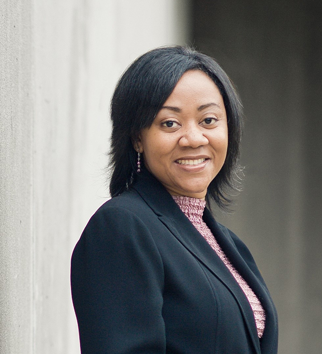 The photo of Tamara Johnson, Assistant Chancellor for Equity, Diversity, and Inclusion at University of Wisconsin-Eau Claire.